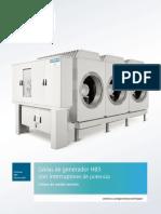 Celdas de generador HB3 con interruptores de potencia