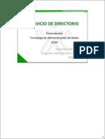 Servicio de Directorio Final