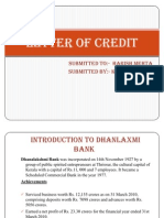 Ppt Letter of Credit