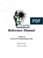 Clips Reference Manual Vol Ii_ Advanced Programming Guide
