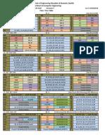 updated timetable 19-20sem II