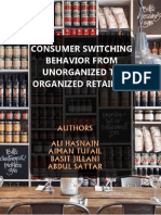 Consumer switching behavior in shopping