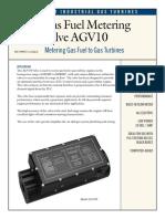 AGV 10 - Gas Turbine Fuel Valve