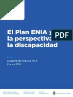 DT.3. El Plan ENIA y Perspectiva de Discapacidad. VF. ISBN