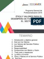 Manual Ética y Valores Para El Desempeño de Funciones en El Sector Público