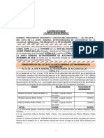 COPIA LEG. No. 351.2019 -ACTA JUNTA EXTRAORDINARIA