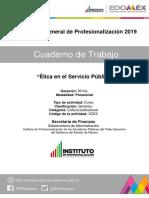Cuaderno de Trabajo _Ética en El Servicio Público_Septiembre 2019 Final
