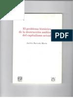 Barreda Marin, A- El problema histórico de la destrucción ambiental del capitalis