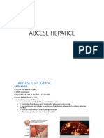 ABCESE HEPATICE