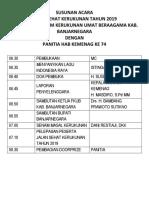 SUSUNAN ACARA JALAN SEHAT.docx