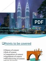 ppt on cement