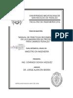 MANUALDEPRACTICASRECOMENDABLESENLAELABORACIONDEPROYECTOSPARACAMINOSRURALES