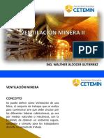 VENTILACIÓN DE MINAS II
