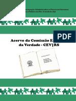 Acervo da Comissão Estadual da Verdade RS