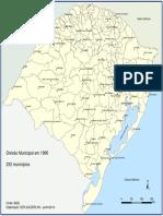 Divisão Municipal do RS em 1966