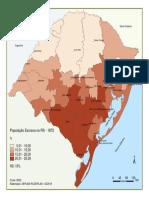População escrava do RS 1872