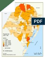 População total do RS em 1940
