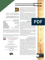 D&D 3.0 Level 12 Adventure - Fait Accompli.pdf