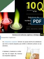 Estrutura de moléculas orgânicas e biológicas