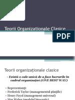 Teorii Organizationale Clasice - masterat (1)