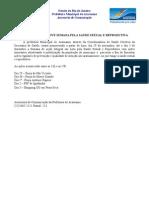 Release nº 224 - Semana pela Saúde Sexual e Reprodutiva