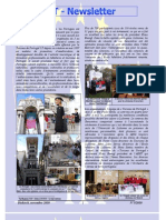 Newsletter of November 2010