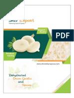 Shiv Export Brochure