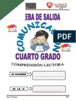PRUEBA DE COMPRENSIÓN 4° FYA 54