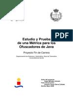 Estudio y Prueba de una Métrica para los Ofuscadores Java