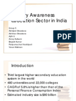Section B Group 5 Education Sector