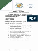 Agenda Jan 15 2020