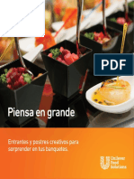RECETAORIO PARA CANAPÉS