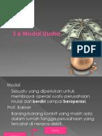 3.5 modal usaha