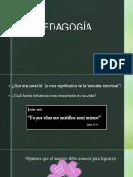 Clase 2 - PEDAGOGÍA (1)