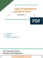 External Analysis_ The Identification of Opportunities & Threats
