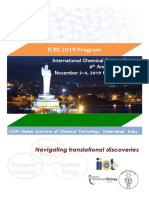 2019 ICBS Program at a Glance