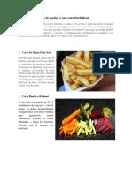 14 Tipos De Cortes En La Cocina Y Sus Características