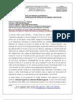 Edital de Limpeza Campinas 02/12/2010