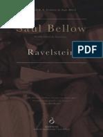 Saul Bellow - Ravelstein (Ed. Quetzal, Portugal)