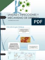 1. Infeccion y Mecanismos de Defensa Del Huesped