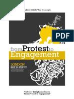 "Professor Tariq Ramadan on ""From Protest to Engagement"""