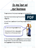 Real Op Amp Input and Output Resistance lecture