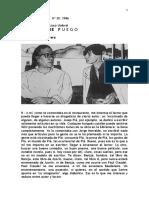 1986 (Entrevista a Francisco Umbral) Revista Barcarola