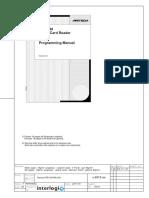 ATS-1192 - manual de programare