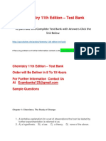 Chemistry 11th Edition – Test Bank
