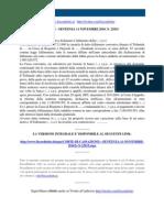 Fisco e Diritto - Corte Di Cassazione n 22915 2010