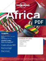 Angola chapter Lonely Planet