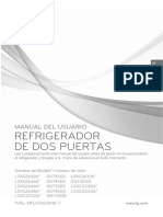 Refrigerador LG Manual del Usuario
