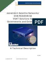 Advantech DVB-RCS VSAT Technical Description Q2, 2007