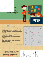 Exercícios resolvidos (Linhas, ângulos e classificação de polígonos)